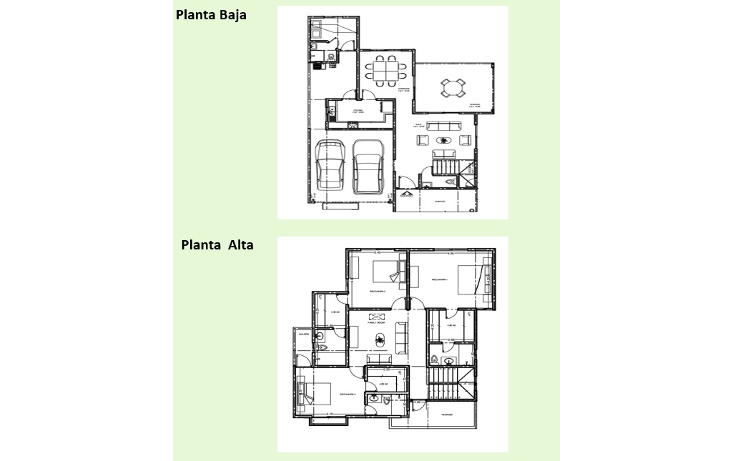 Foto de casa en venta en  , algarrobos desarrollo residencial, m?rida, yucat?n, 1298319 No. 02