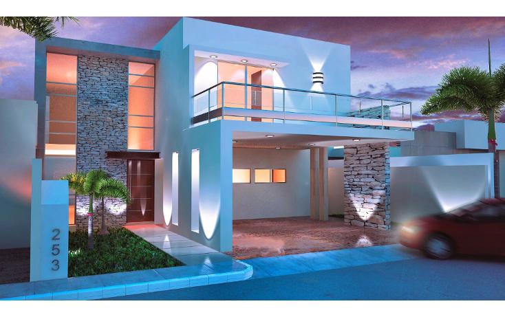 Foto de casa en venta en  , algarrobos desarrollo residencial, mérida, yucatán, 1356621 No. 01