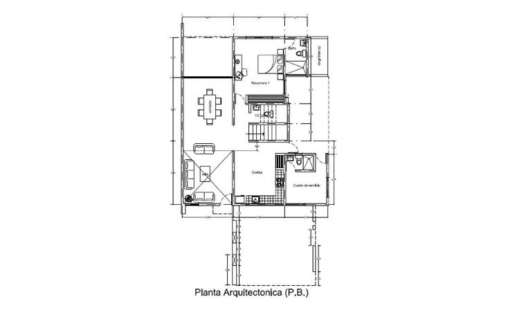 Foto de casa en venta en  , algarrobos desarrollo residencial, mérida, yucatán, 1356621 No. 03
