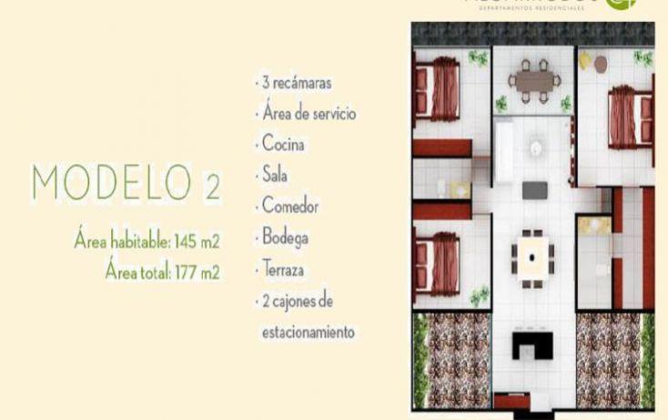 Foto de departamento en venta en, algarrobos desarrollo residencial, mérida, yucatán, 1766702 no 03