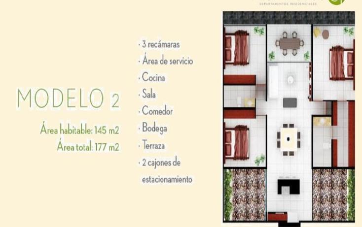 Foto de departamento en venta en  , algarrobos desarrollo residencial, m?rida, yucat?n, 1766702 No. 03