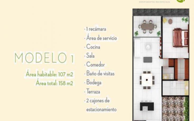 Foto de departamento en venta en, algarrobos desarrollo residencial, mérida, yucatán, 1766702 no 05