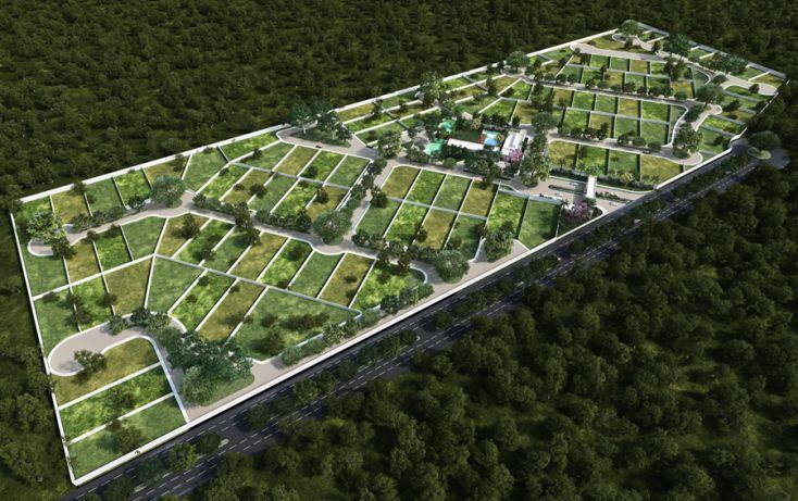 Foto de terreno habitacional en venta en, algarrobos desarrollo residencial, mérida, yucatán, 2037048 no 02