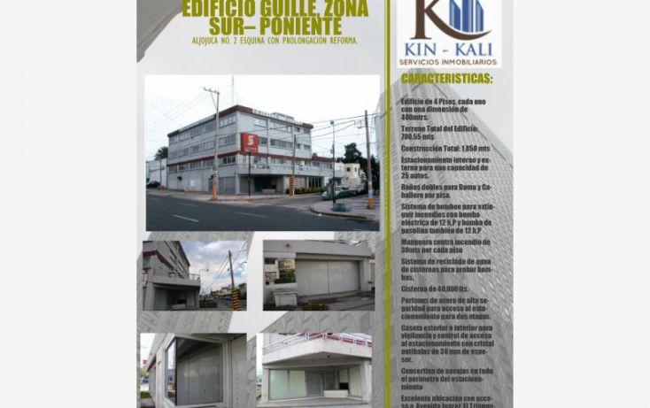 Foto de edificio en venta en aljojuca 2, la paz, puebla, puebla, 1688282 no 01