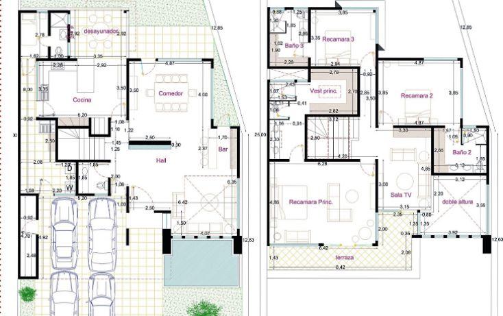 Foto de casa en condominio en venta en, alta vista, san andrés cholula, puebla, 1603423 no 03