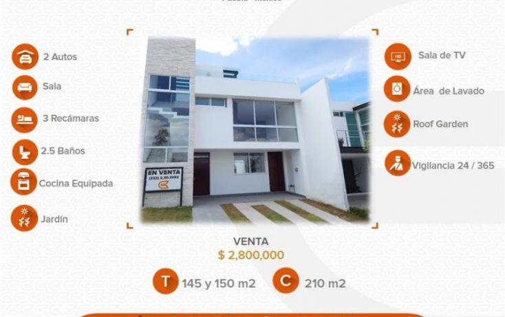 Foto de casa en venta en, alta vista, san andrés cholula, puebla, 1710222 no 01