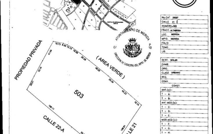 Foto de terreno comercial en venta en, altabrisa, mérida, yucatán, 1107253 no 04