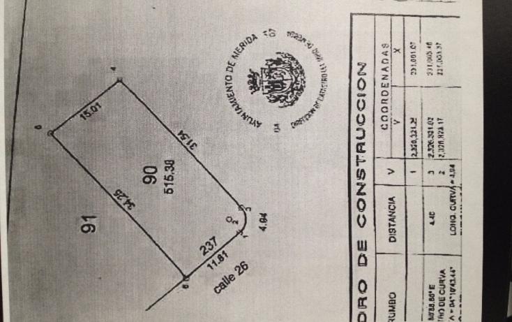 Foto de terreno habitacional en venta en, altabrisa, mérida, yucatán, 1112665 no 02