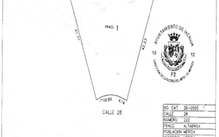 Foto de terreno habitacional en venta en, altabrisa, mérida, yucatán, 1125707 no 04