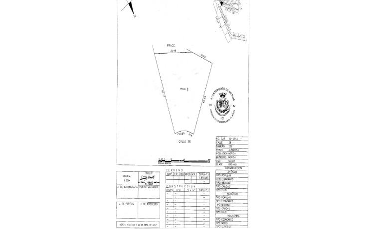 Foto de terreno habitacional en venta en  , altabrisa, mérida, yucatán, 1125707 No. 04