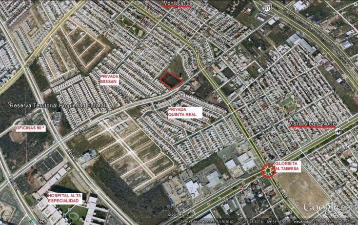 Foto de terreno comercial en venta en, altabrisa, mérida, yucatán, 1188743 no 01