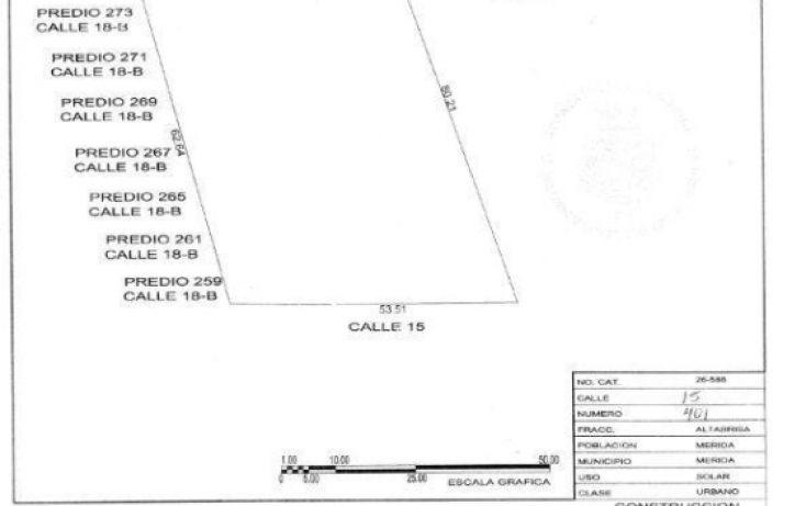 Foto de terreno comercial en venta en, altabrisa, mérida, yucatán, 1188743 no 03