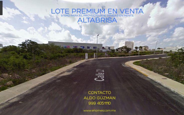 Foto de terreno habitacional en venta en, altabrisa, mérida, yucatán, 1223823 no 01