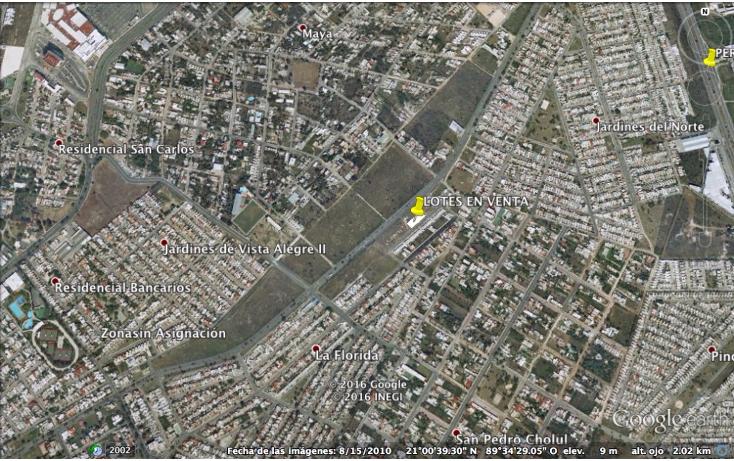 Foto de terreno habitacional en venta en  , altabrisa, mérida, yucatán, 1248481 No. 02