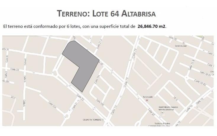 Foto de terreno comercial en venta en  , altabrisa, mérida, yucatán, 1297639 No. 05