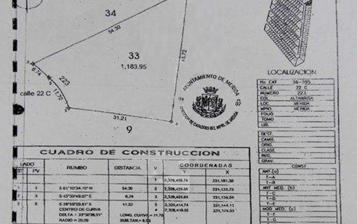 Foto de terreno habitacional en venta en  , altabrisa, mérida, yucatán, 1749912 No. 02