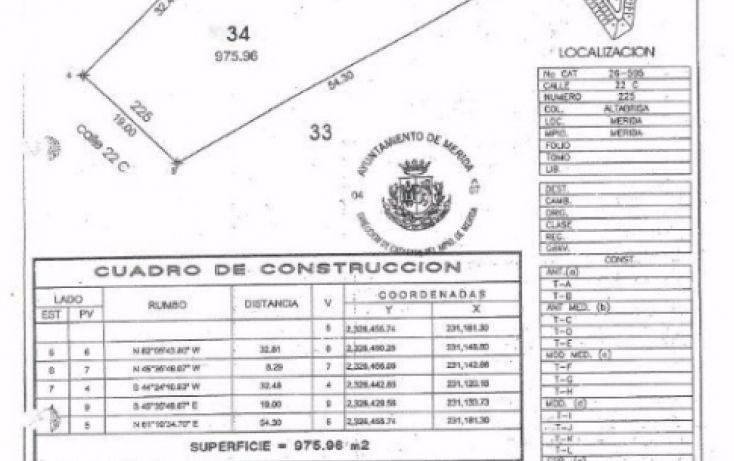 Foto de terreno habitacional en venta en, altabrisa, mérida, yucatán, 1772466 no 02