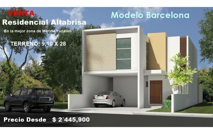 Foto de casa en venta en, altabrisa, mérida, yucatán, 1927675 no 01