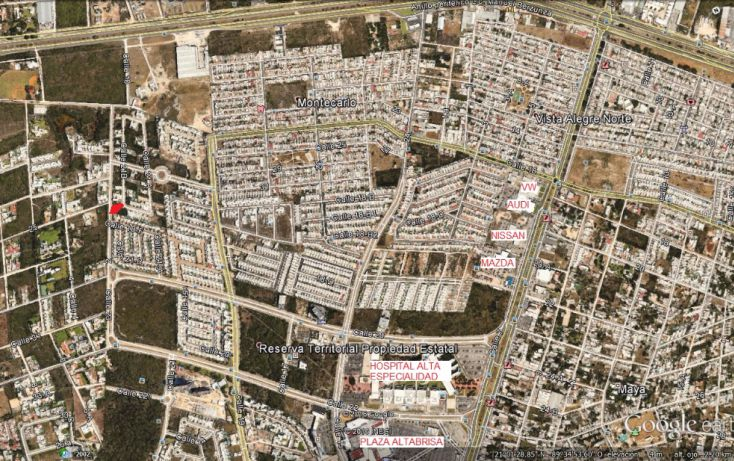 Foto de terreno habitacional en venta en, altabrisa, mérida, yucatán, 1966910 no 01