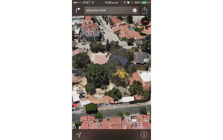 Foto de terreno habitacional en venta en altamira 644 , altamira, zapopan, jalisco, 1522246 No. 02