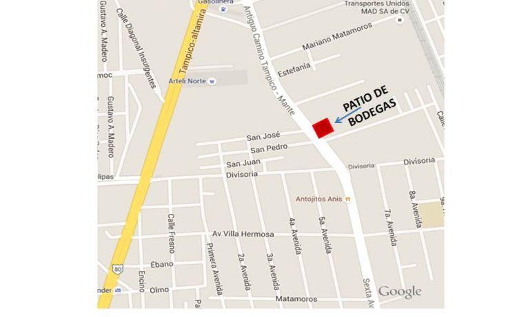 Foto de bodega en renta en, altamira, altamira, tamaulipas, 1282323 no 14
