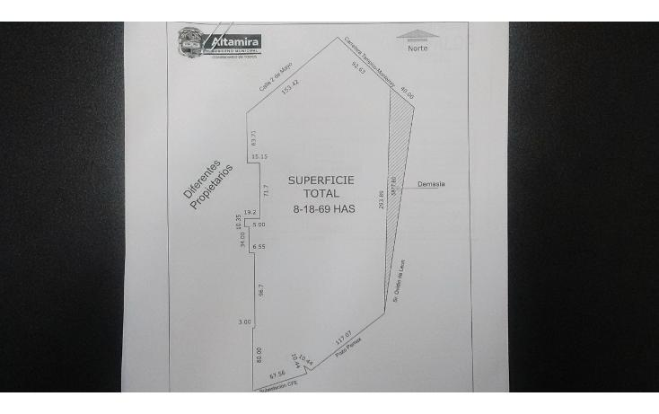 Foto de terreno habitacional en venta en  , altamira sector iii, altamira, tamaulipas, 1459905 No. 01