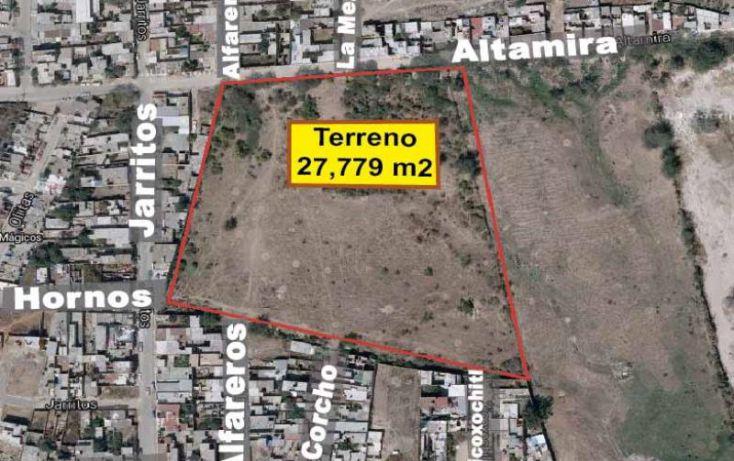Foto de terreno habitacional en venta en altamira, xicoxochitl, tonalá, jalisco, 1393339 no 01