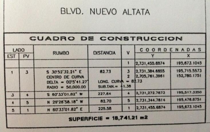 Foto de terreno habitacional en venta en  , altata, navolato, sinaloa, 1087419 No. 21