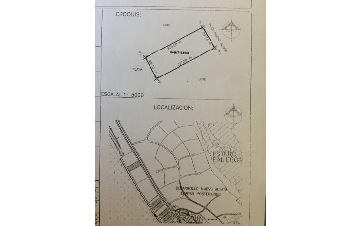 Foto de terreno habitacional en venta en  , altata, navolato, sinaloa, 1087419 No. 22