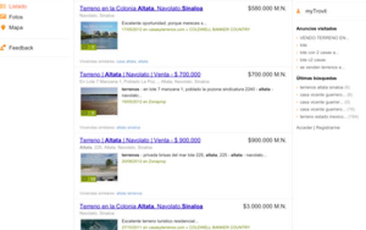 Foto de terreno comercial en venta en  , altata, navolato, sinaloa, 1108875 No. 02