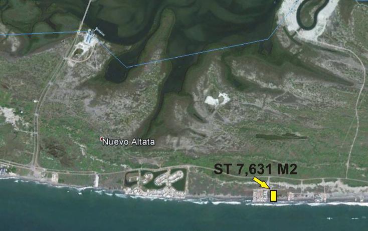 Foto de terreno habitacional en venta en  , altata, navolato, sinaloa, 1435483 No. 02