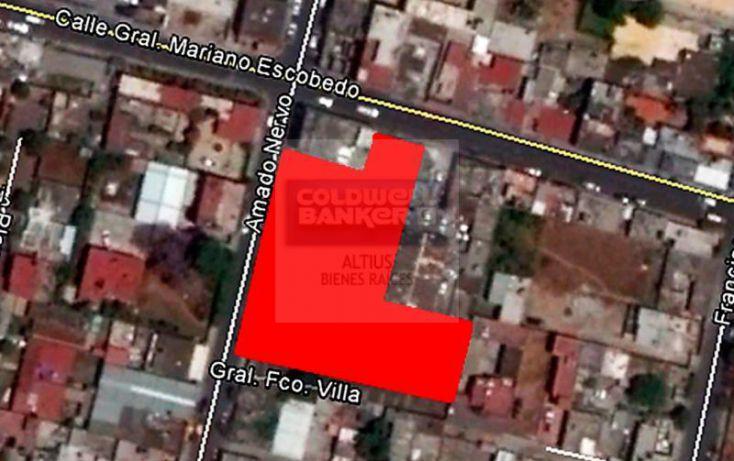 Foto de terreno habitacional en venta en amado nervo y gral mariano escobedo, los reyes, tultitlán, estado de méxico, 1487873 no 02