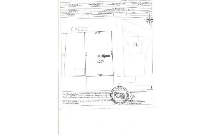 Foto de terreno habitacional en venta en  , ampliación 3 de mayo, emiliano zapata, morelos, 1271587 No. 02
