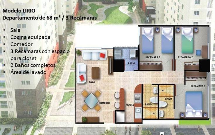Foto de departamento en venta en  , ampliación del gas, azcapotzalco, distrito federal, 837247 No. 02