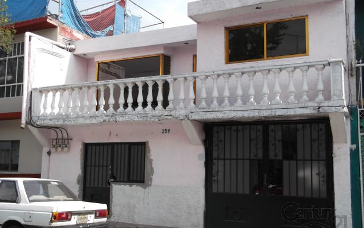 Foto de casa en venta en  , ampliación guadalupe proletaria, gustavo a. madero, distrito federal, 1942811 No. 01