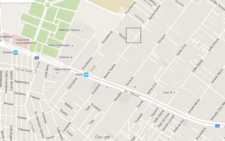 Foto de terreno habitacional en venta en  , los olivos, tláhuac, distrito federal, 3432039 No. 01