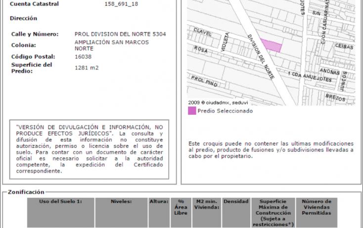 Foto de terreno comercial en venta en, ampliación san marcos norte, xochimilco, df, 1973036 no 08