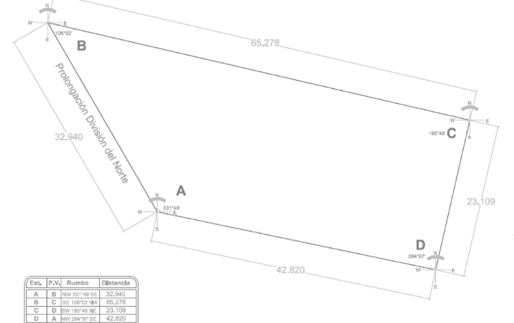 Foto de terreno comercial en venta en  , ampliación san marcos norte, xochimilco, distrito federal, 1973036 No. 02