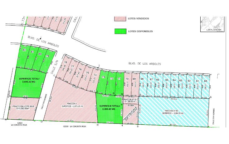 Foto de terreno habitacional en venta en  , ampliaci?n senderos, torre?n, coahuila de zaragoza, 982191 No. 04