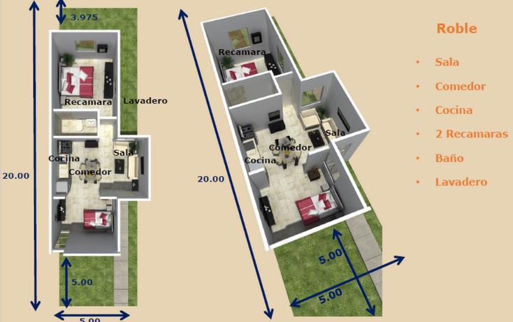 Foto de casa en venta en  , ampliación tixcacal opichen, mérida, yucatán, 1136057 No. 06