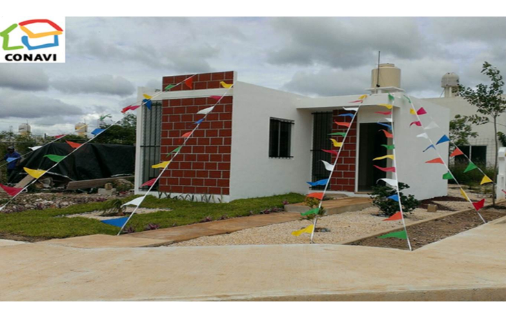 Foto de casa en venta en  , ampliación tixcacal opichen, mérida, yucatán, 1176401 No. 01