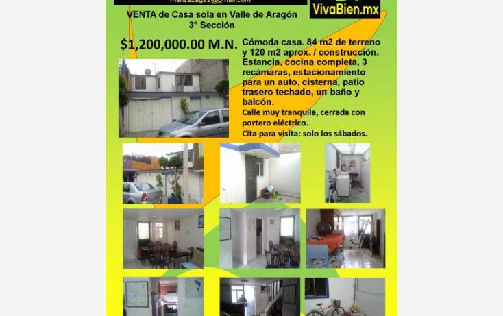 Foto de casa en venta en, ampliación valle de aragón sección a, ecatepec de morelos, estado de méxico, 1767070 no 01