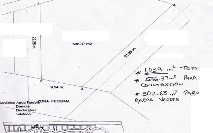 Foto de terreno habitacional en venta en  , anacleto canabal 1a secci?n, centro, tabasco, 1188415 No. 01