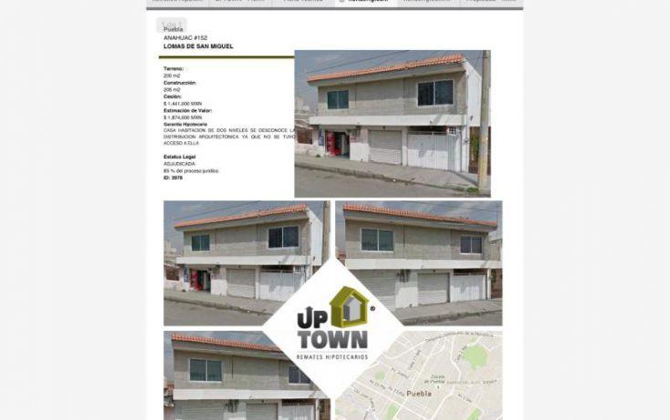Foto de casa en venta en anahuac 152, lomas san miguel, puebla, puebla, 1412709 no 01