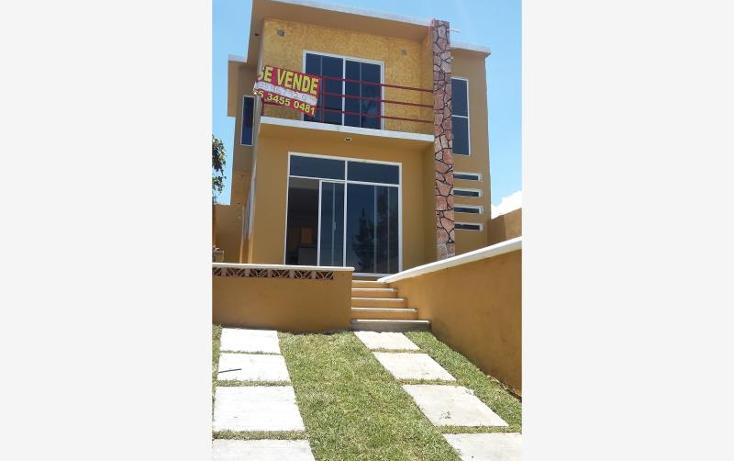 Foto de casa en venta en andador 1 1, vicente guerrero, atlatlahucan, morelos, 1393085 No. 01