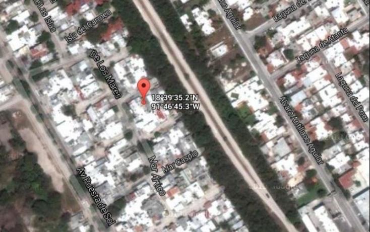 Foto de terreno habitacional en venta en andador mar de cortés 111, 18 de marzo, carmen, campeche, 586254 no 01