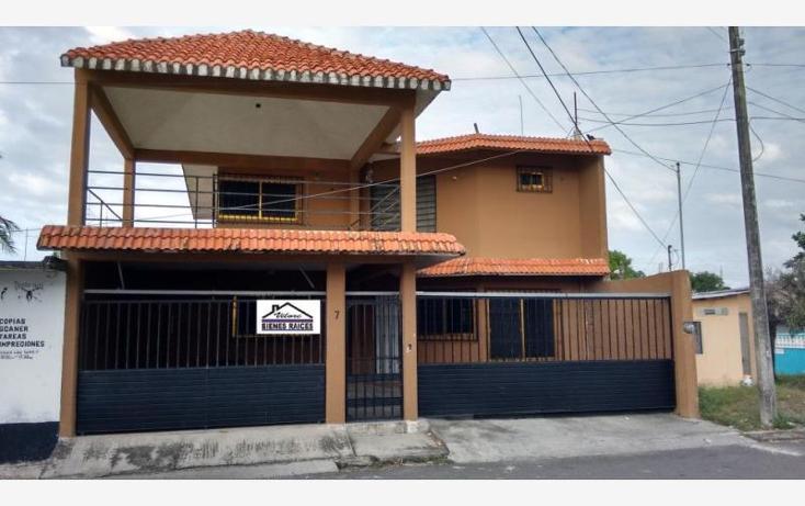 Foto de casa en venta en angel carvajal 7, josé lópez portillo, boca del río, veracruz de ignacio de la llave, 1537902 No. 01
