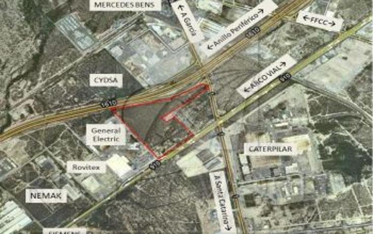 Foto de terreno habitacional en venta en anillo periferico cuota, arco vial, garcía, nuevo león, 253054 no 01