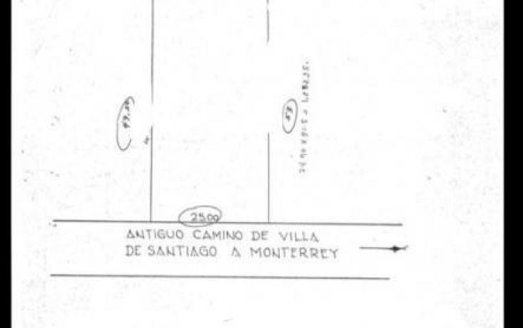 Foto de terreno habitacional en venta en antiguo camino a villa de santiago, yerbaniz, santiago, nuevo león, 1697216 no 01