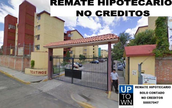 Foto de departamento en venta en antonio plaza 12, xalpa, iztapalapa, df, 1216137 no 01
